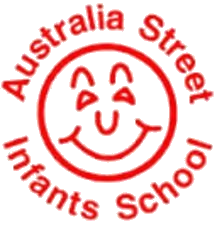 Australia Street Infants School logo